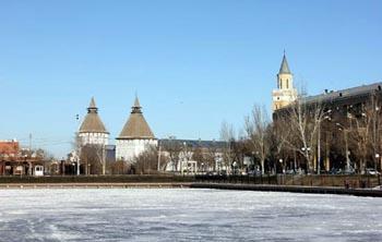 В центре Астрахани орудовали вандалы