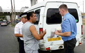 Массовые проверки пассажирского транспорта проходят в Астрахани
