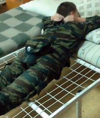 В казачем корпусе Астрахани сняли скандальное видео