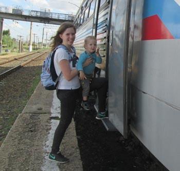 Между станциями Астрахань-1 и Астрахань-2 запущен новый поезд
