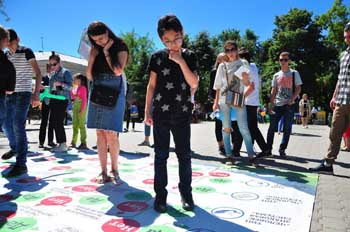 Фестиваль «Охота на работу» помог 500 юным астраханцам определиться с профессией