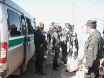 За год из Астраханской области выдворено 184 нелегала