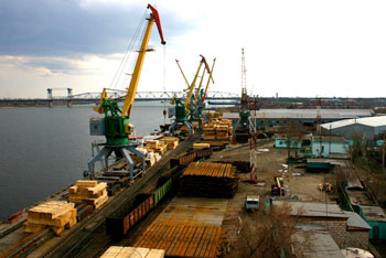 Морские торговые порты Астрахани в кризисе