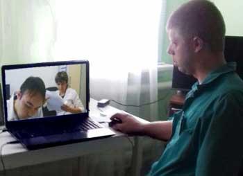 В Астраханской области провели первую телеконсультацию пациента на дому