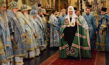 Патриарх Кирилл проведёт в Астрахани Божественную литургию и всенощное бдение
