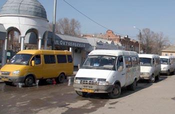 Маршрутки в Астрахани возят пассажиров за 19 рублей