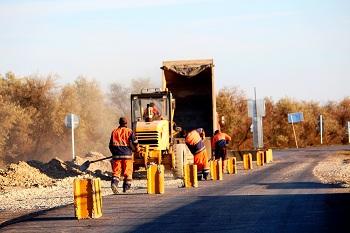 Отремонтирована трасса «Сеитовка – Ватажное – граница Казахстана»