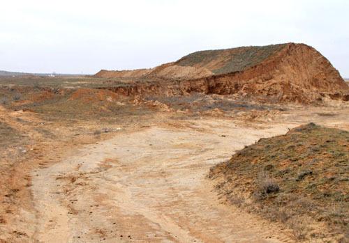Глина из Астрахани поможет в ликвидации волгоградских свалок