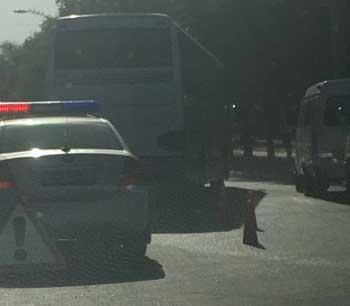 В Астрахани пенсионерку сбил автобус