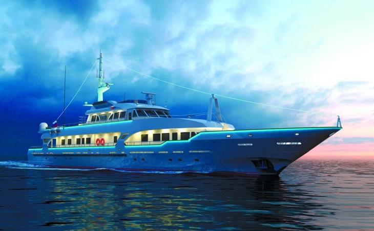 В Астрахани продаётся мега-яхта за 290 млн рублей