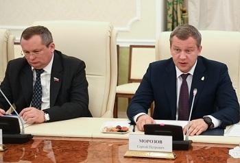 Сергей Морозов и Игорь Мартынов посетили Республику Татарстан