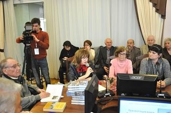 В Астрахани прошла презентация книги Александра Маркова