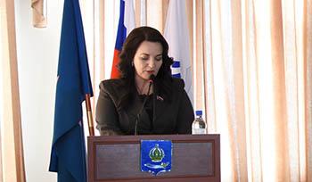 Глава города Алёна Губанова подвела итоги минувшего года