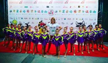 Спортивные мажоретки Астрахани стали обладателями II International Open Cup