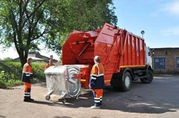 Юридические лица в Астрахани не спешат заключать договоры на вывоз мусора