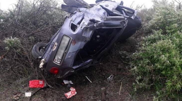 В автокатастрофе под Астраханью погибли два человека