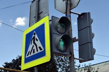 В Астрахани появились новые светофоры