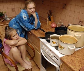 В десятках домов в Астрахани на неделю отключили горячую воду