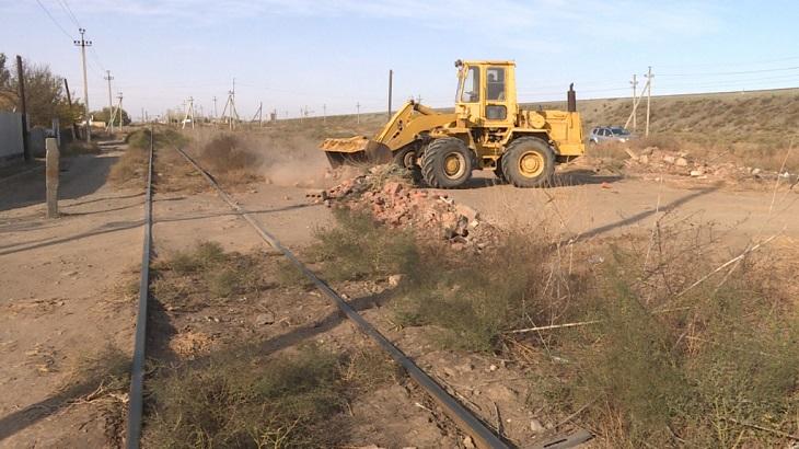 В Астрахани ликвидировали три опасных железнодорожных переезда