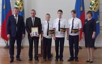 Врио губернатора оценил активность школьников Приволжского района