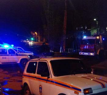 При пожаре в Астрахани пострадал человек