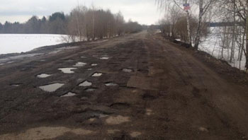 Дороги в Астраханской области признаны недостаточно безопасными