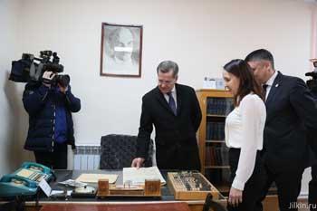 В астраханском селе Волжское открыли музей истории