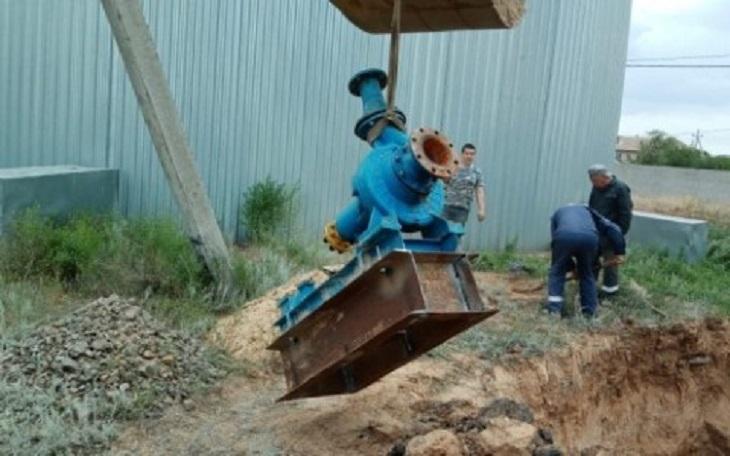 Посёлку Нижний Баскунчак перебои с водой теперь не грозят