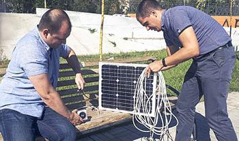 В Астрахани появится первая «умная» скамья
