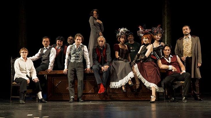 Астраханский драматический театр в это воскресенье покажет спектакль-гротеск