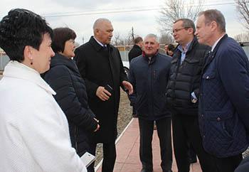 Игорь Мартынов посетил Красноярский район с рабочим визитом