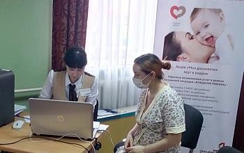 «Мои документы» стали ближе для мам пациентов детской больницы