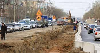 В Астрахани на улице Яблочкова начался долгожданный ремонт