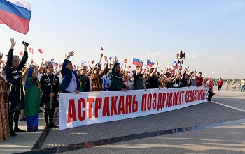 Астрахань прославилась на всю страну благодаря энтузиазму простых горожан