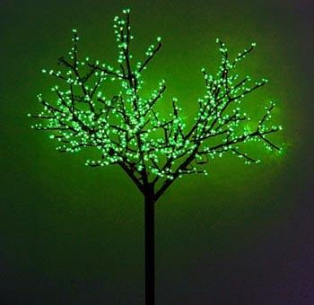 В Астрахани появятся светодиодные деревья
