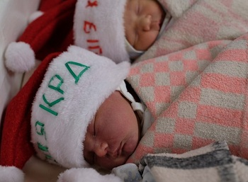В Клиническом родильном доме появился на свет мальчик весом 5250 граммов