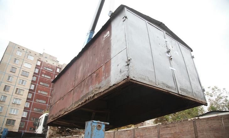 Астрахань освобождается от незаконных гаражей
