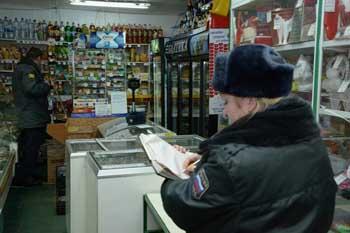 В Кировском районе разбойник украл выручку продуктового магазина