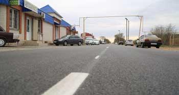 В Трусовском районе Астрахани отремонтирован путь до объездной дороги
