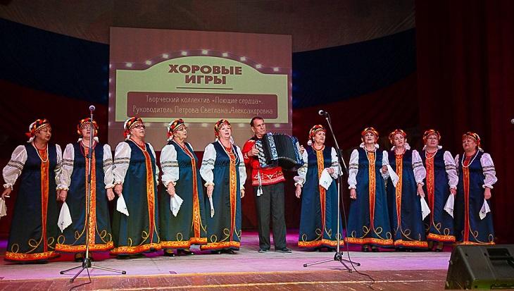 В Астрахани состоялся хоровой турнир пенсионеров