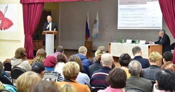 Олег Полумордвинов провёл встречи с жителями районов