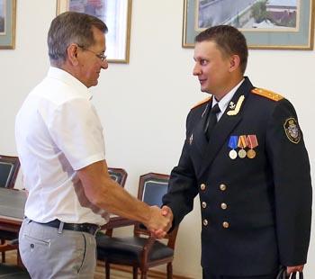 Назначен новый прокурор Каспийской флотилии
