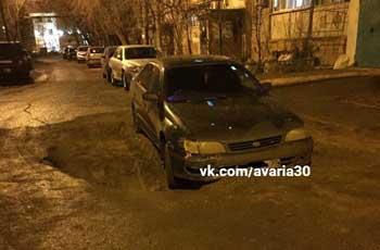 В Астрахани автомобилистов подкарауливает сюрприз от коммунальщиков