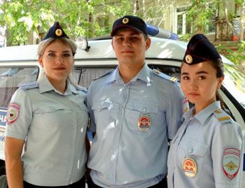 Полицейские спасли пьяную ревнивицу в Астрахани