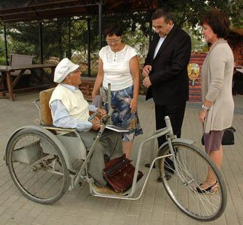 Минтруда: Астрахань неблагоустроена для инвалидов