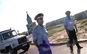 На Пасху в Астрахани случился скандал с участием полиции