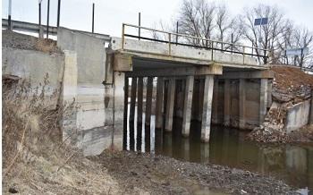 В Астраханской области закрыли очередной аварийный мост