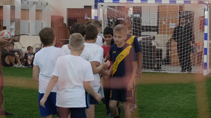 В Астрахани состоялся футбольный турнир среди детских команд
