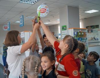 Астраханские почтовики приняли участие в организации квеста для детей из социального приюта
