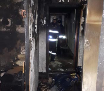 17 человек спасено на двух произошедших накануне вечером пожарах